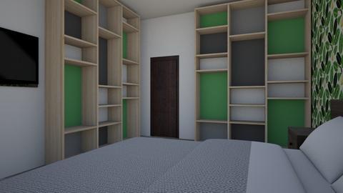 Slaapkamer 2 - Bedroom  - by SaraDinkje
