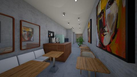 Cafe China town v5 - Office  - by Julia Nick