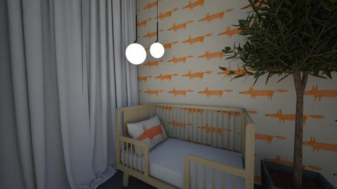 Foxy Nursery - Bedroom  - by milk07Designs