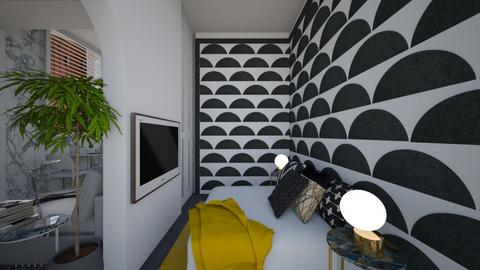 Casa382Bedroom - Eclectic - Bedroom  - by nickynunes