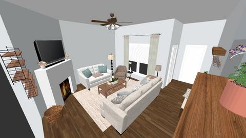 Living Room - Country - Living room  - by allielarson