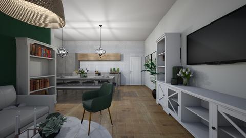green - Modern - Living room  - by monek299