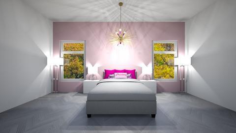 Pink Room - Glamour - Bedroom  - by jordynclark