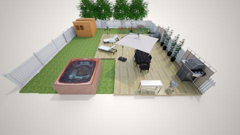 backyard - Garden  - by l_renz08
