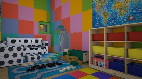 playroom blocks part 4 - Kids room  - by Amyz625