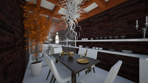 Dining mm - Glamour - Dining room - by nioosh88