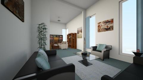 thru - Minimal - Living room  - by emivim