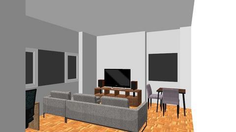 Johannes vardagsrum - Minimal - Living room  - by tillbaks