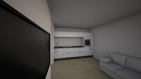 kuhinja2 ksds - Living room  - by sinemarb