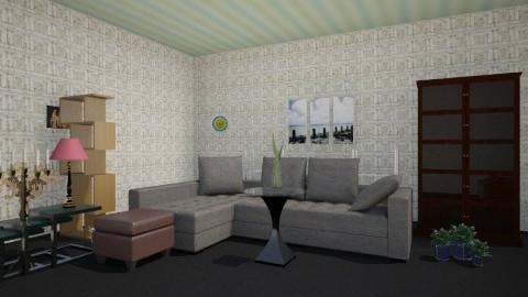 Living in Paris - Minimal - Living room - by bayu81
