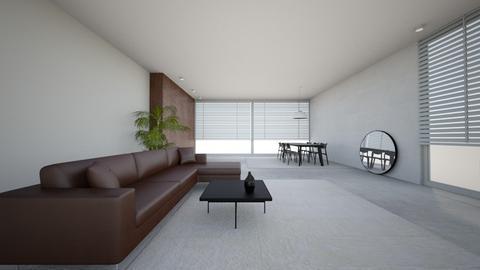 Minimalist  - Modern - Living room - by ichellevdoorenx