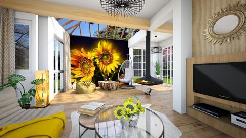 Sunflower retreat - by Alexandra_21