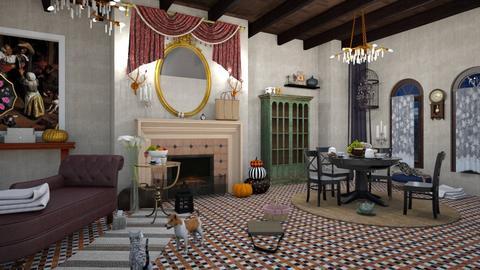 Jan Steen Living - Living room  - by matina1976