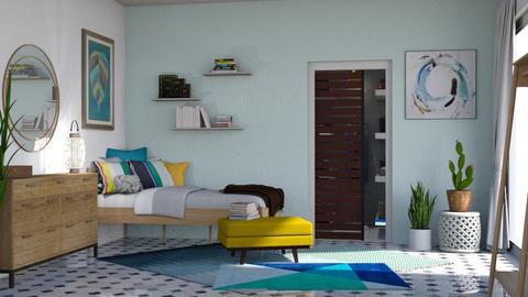 Summer Room - Bedroom - by WubMaxWax