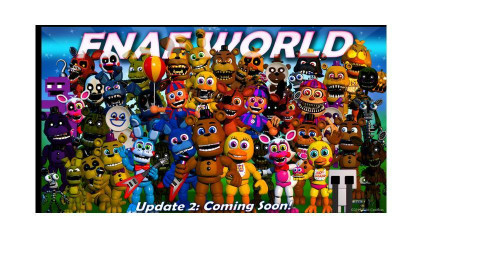 fnaf world poster - by sshipton