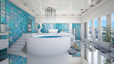 Virtual spa  - Bathroom  - by Ida Dzanovic