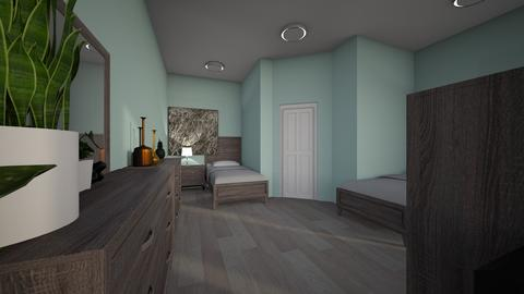 2 twin room mpdern - Modern - Kids room  - by jade1111
