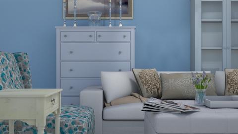 Shabby chic living room - Living room - by designermap
