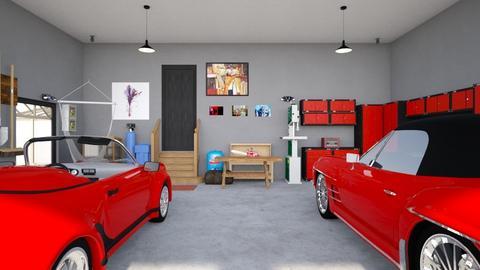 Garage - by Raven Storme