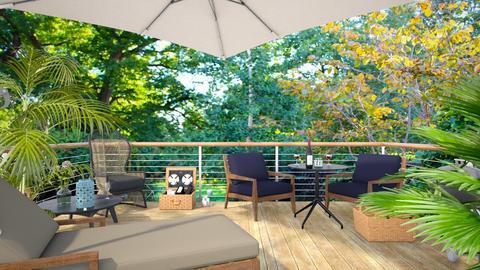 Terrace - Garden  - by LaCoune