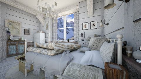 Snug as a Bug in a Rug - Eclectic - Bedroom - by evahassing
