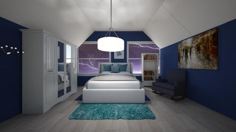 Stormy day bedroom - Bedroom  - by brownbox