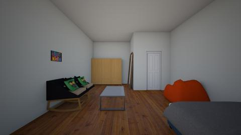 second plan - Modern - Bedroom  - by RAGHUL
