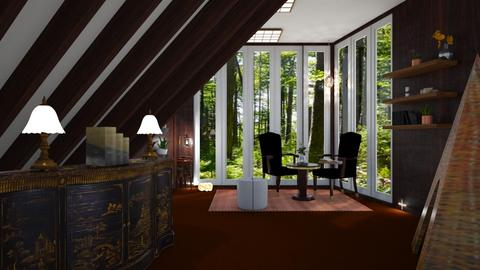 Attic Reading room - by suelb