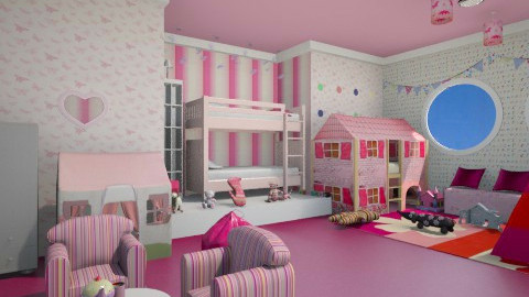 girls room - Kids room - by alexdj