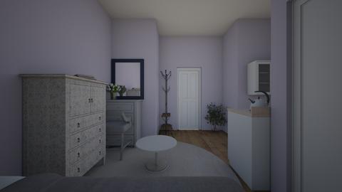 parknie design room - Bedroom  - by eri1485