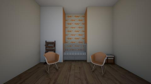 boy nersary - Kids room  - by katemarsh