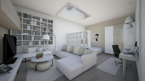 Nikki in London - Modern - Living room  - by Senia N