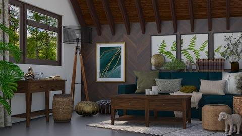 Wood - Living room  - by Adelaide8