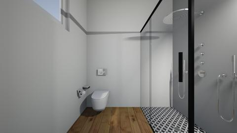 nn - Bathroom  - by Architectdreams