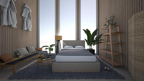 Chic bedroom - Modern - Bedroom  - by hannahelise