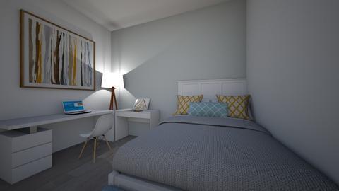 Alexa Robles - Bedroom  - by Alexa_Robles