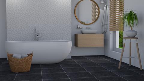 Minimalist - Bathroom  - by Thrud45