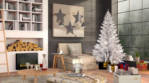 Christmas Stars - Eclectic - Living room  - by Sally Simpson