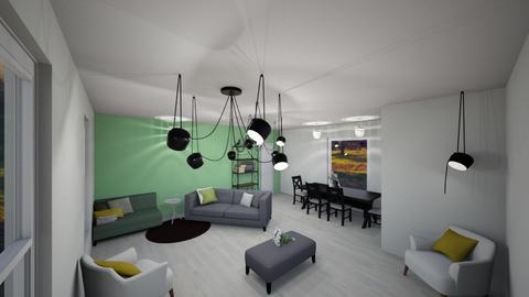 fresh spring living area - Classic - Living room  - by JarvisLegg