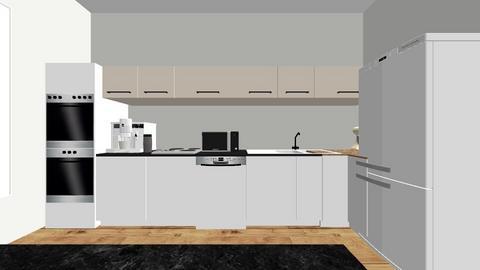 kuchnia - Modern - Kitchen  - by anastazja58