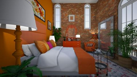 india color - Bedroom  - by hillygabe