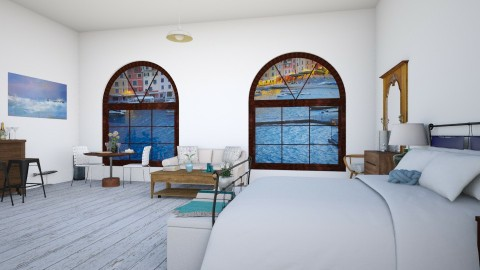 harbour view - Bedroom - by Liberty Interior