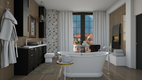 Contemporary Elegance - Modern - Bathroom - by janip