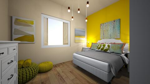 summer II room - Bedroom - by bettamarchegiano