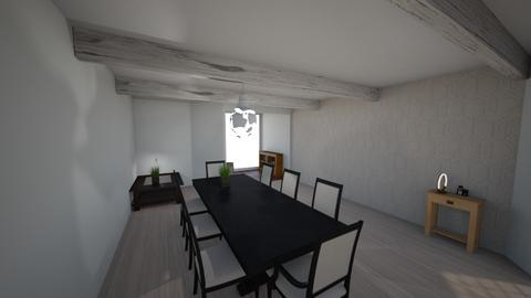 123 - Modern - Dining room - by Armhead