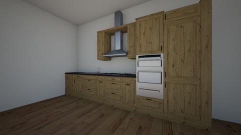 macy and sophie kitchen - Kitchen - by RE school