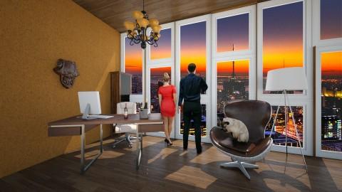 3f2fff2 - Rustic - Office  - by Halisson