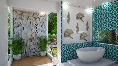 Bathroom Wall Art 3 - by Fofinha