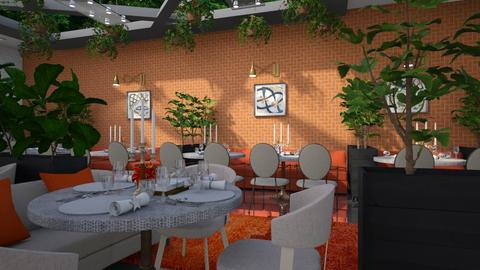 Restaurant - by Ebru Tekneci