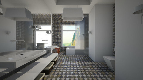 Mountain Bathroom By WHP - Modern - Bathroom  - by wagner herbst padilha